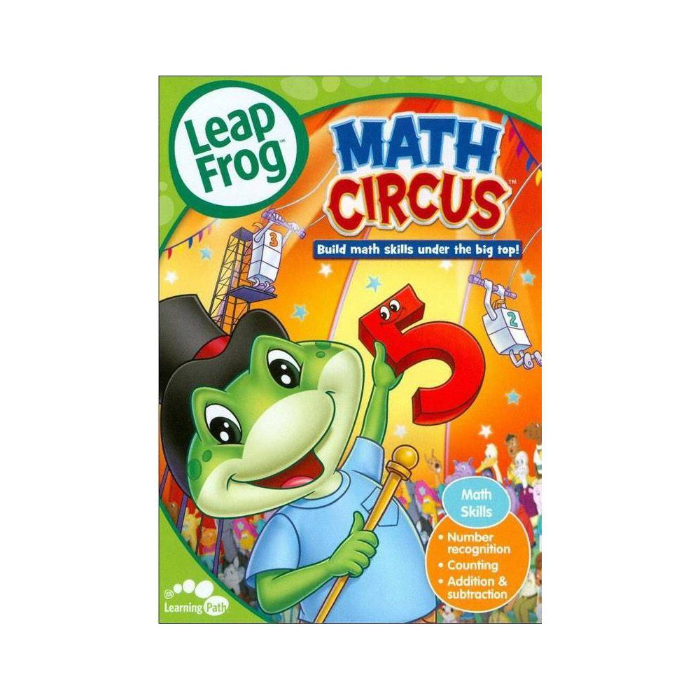 Leapfrog Match Circus Dvd 2012