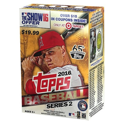Topps 2016 MLB Series 2 Full Box Target Exclusive Baseball Trading Cards - image 1 of 2