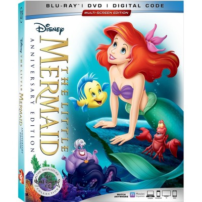 The Little Mermaid 30th Anniversary Signature Collection(Blu-Ray + DVD + Digital)
