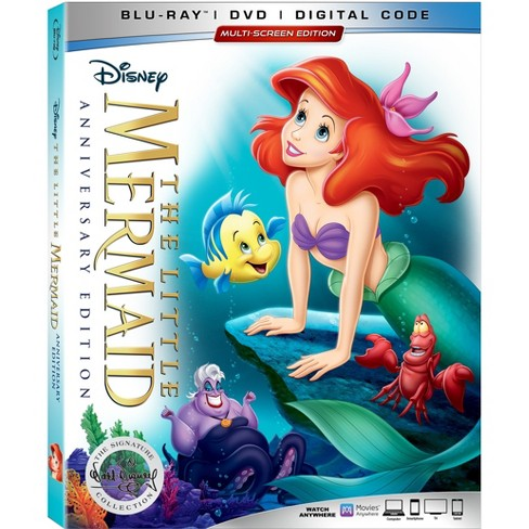The Little Mermaid 30th Anniversary Signature Collection(Blu-Ray + DVD + Digital) - image 1 of 2