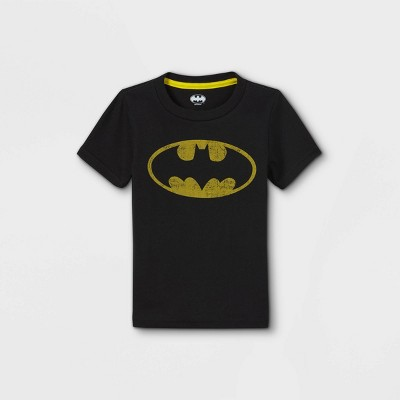Toddler Boys' Batman Short Sleeve Graphic T-Shirt - Blue