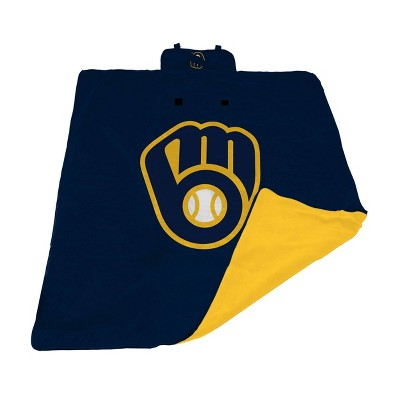 MLB Milwaukee Brewers All Weather Outdoor Blanket - XL