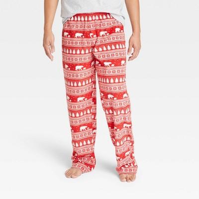 Men's Holiday Fairisle Matching Family Pajama Pants - Wondershop™ Red