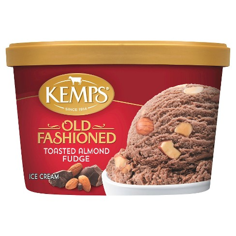 Kemps Old Fashioned Toasted Almond Fudge Ice Cream - 48oz - image 1 of 1