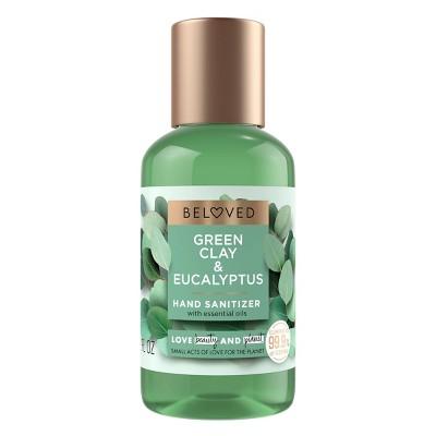 Beloved Green Clay & Eucalyptus Hand Sanitizer - 2 fl oz