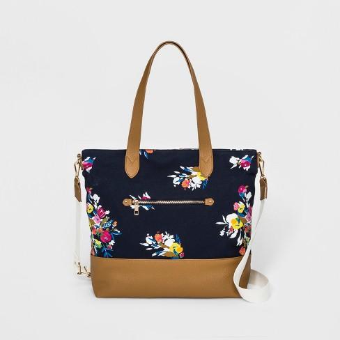Canvas Tote Handbag - A New Day™ - image 1 of 3