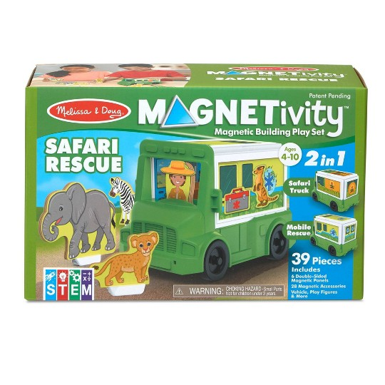Melissa & Doug Magnetivity - Safari Rescue image number null
