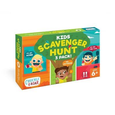 Chuckle & Roar Scavenger Hunt Game