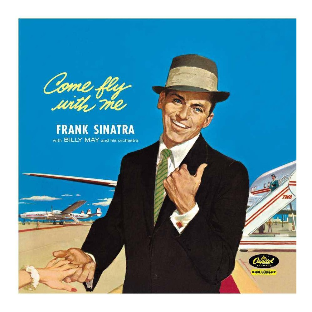 Frank Sinatra Come Fly With Me Lp Vinyl