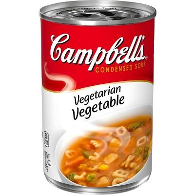 Campbell's Condensed Vegetarian Vegetable Soup - 10.5oz