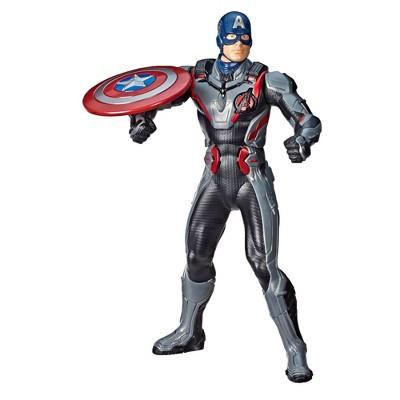"""Marvel Avengers: Endgame Shield Blast Captain America 13"""" Action Figure"""