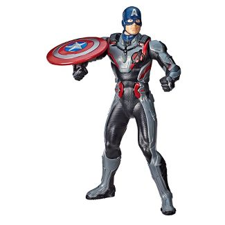 "Marvel Avengers: Endgame Shield Blast Captain America 13"" Action Figure"