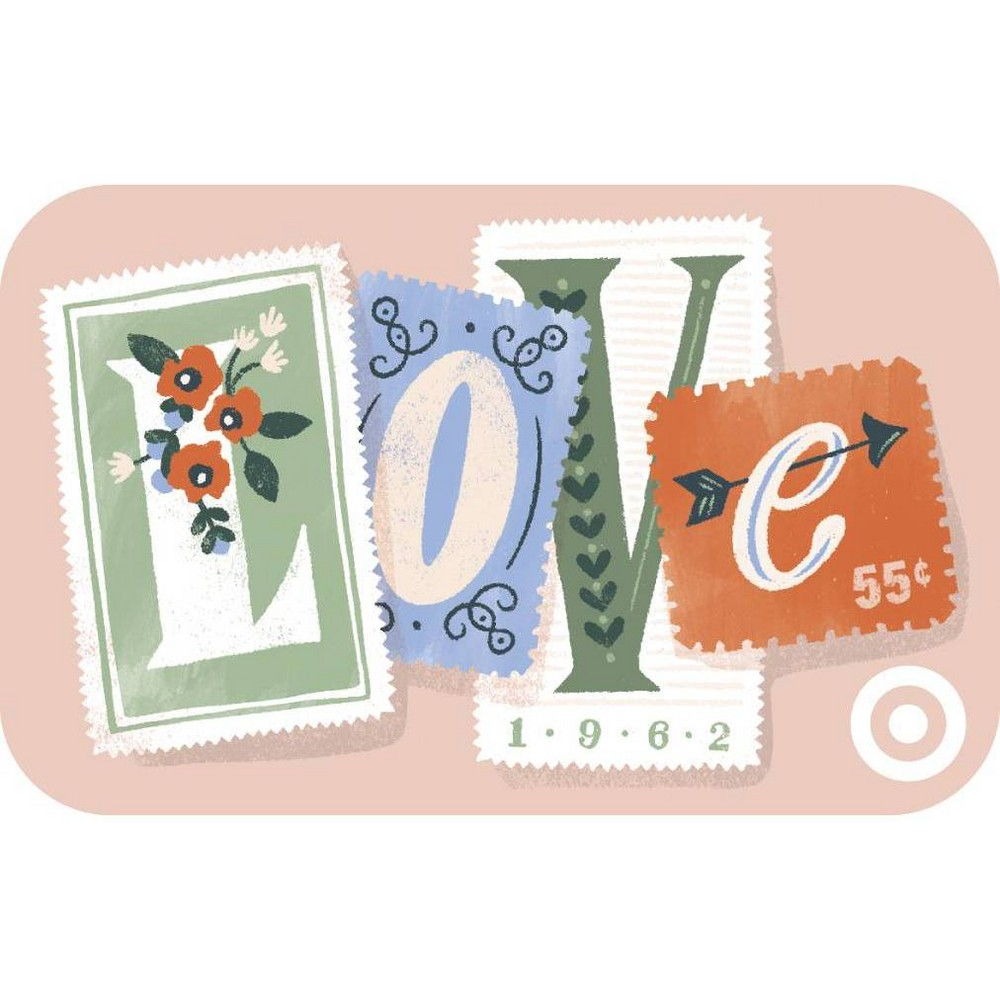 Love Stamps Target Giftcard 25