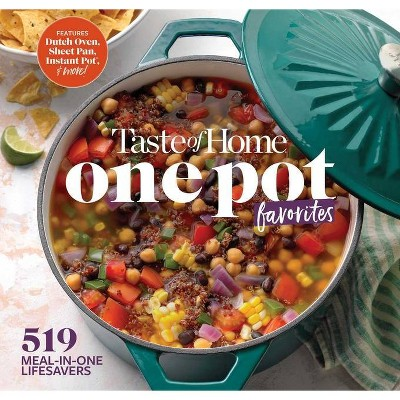 Taste of Home One Pot Favorites - by Editors at Taste of Home (Spiral_bound) (Spiral Bound)