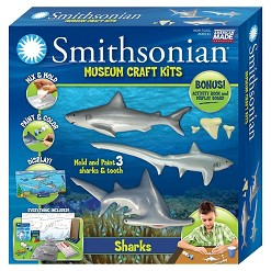 Smithsonian Museum Craft Kit - Sharks