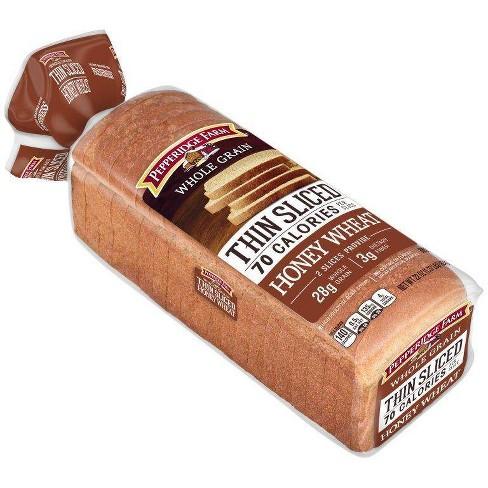 Pepperidge Farm Whole Grain Honey Wheat Thin Sliced Bread - 22oz - image 1 of 4