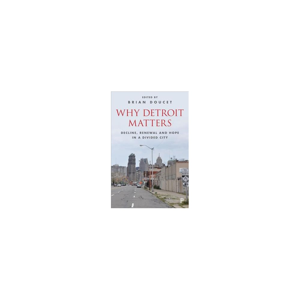 Why Detroit Matters : Decline, Renewal, and Hope in a Divided City - (Hardcover)