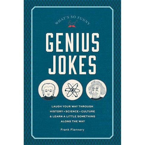 Genius Jokes - (Live Well) by  Frank Flannery (Hardcover) - image 1 of 1