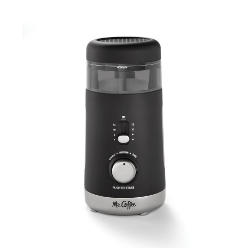 Mr. Coffee 12-Cup Automatic Blade Mill Grinder - Black - image 1 of 4