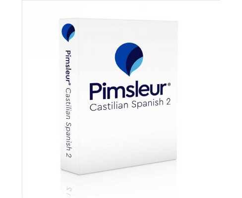 Pimsleur Castilian Spanish 2 -  COM/BKLT B (CD/Spoken Word) - image 1 of 1