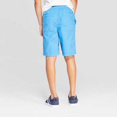 Boys' Pull-On Chino Shorts - Cat & Jack Blue S, Boy's, Size: Small