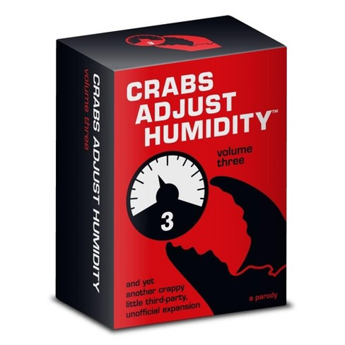 Vampire Squid Cards LLC Crabs Adjust Humidity Playing Cards Vol. Three - image 1 of 1