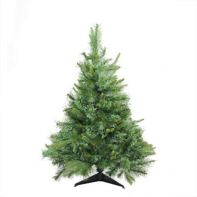 Northlight 3' Unlit Artificial Christmas Tree Full Ashcroft Cashmere Pine