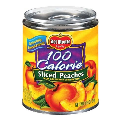 Del Monte 100 Calorie Yellow Cling Sliced Peaches in Extra Light Syrup 25-oz. - image 1 of 1