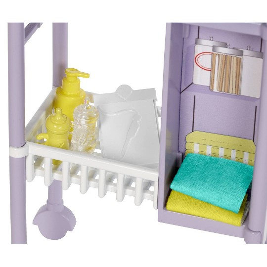 Barbie You Can Be Anything Baby Doctor Brunette Doll and Playset image number null
