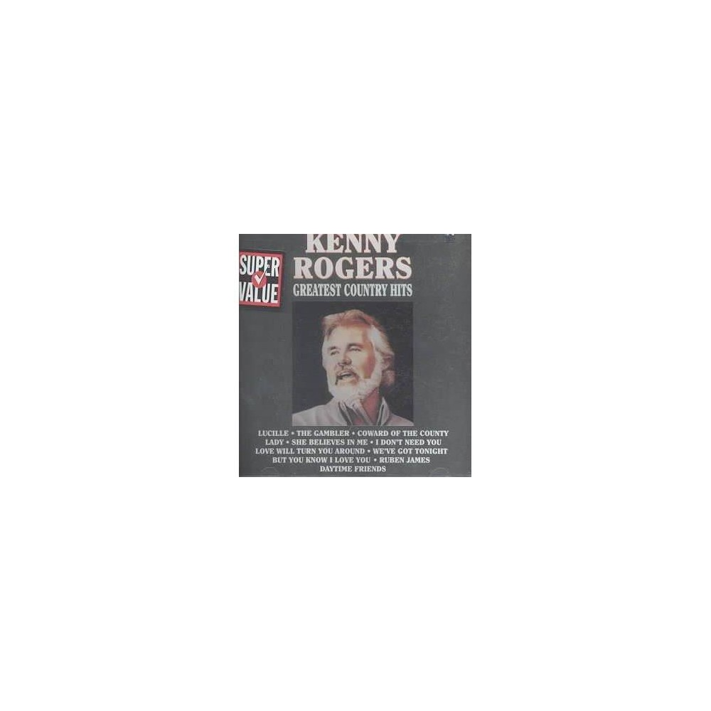 Kenny Rogers - Greatest Country Hits (CD) Coupons