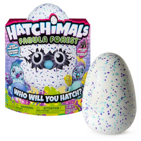 Hatchimals Fabula Forest - Hatching Egg with Interactive Puffatoo by Spin Master (Styles and Colors May Vary) - image 1 of 10