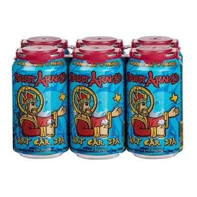 Saint Arnold Art Car IPA Beer - 6pk/12 fl oz Cans