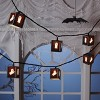 10ct Halloween Plastic Ghost Lantern Clear Bulb Novelty String Lights - Hyde & EEK! Boutique™ - image 2 of 3