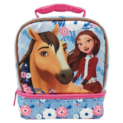 DreamWorks Spirit Dual Compartment Lunch Bag - Denim Blue