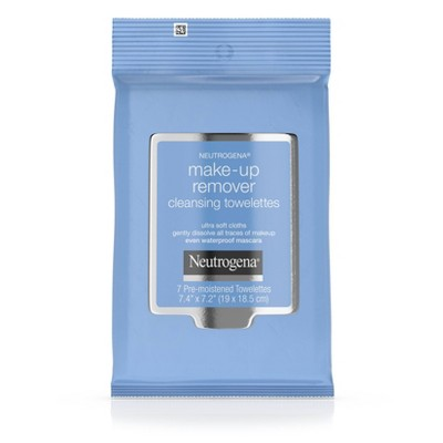 Neutrogena Makeup Remover Cleansing Towelettes - Travel Pack - 7ct