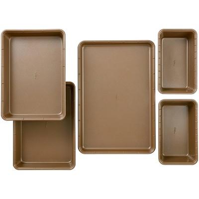 Wilton 5pc Ceramic Coated Non-Stick Bakeware Set