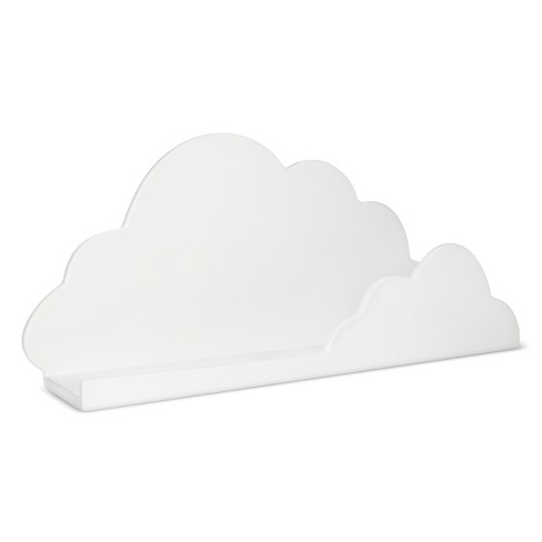 Cloud Decorative Wall Shelf White Pillowfort