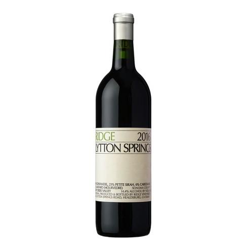 Ridge Lytton Springs Zinfandel Red Wine - 750ml Bottle - image 1 of 1