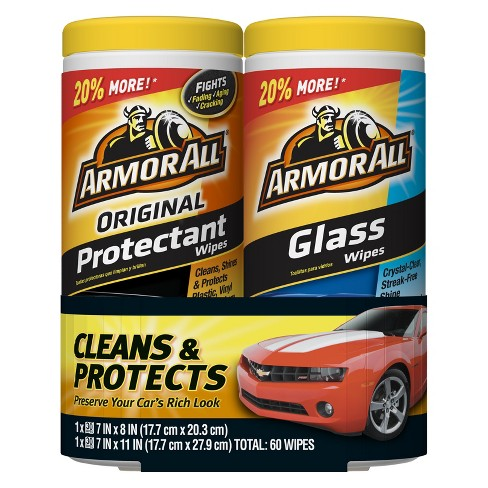 Armor All Glass/Protectant Wipes 2 pack - image 1 of 1