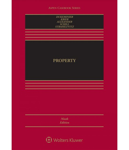 Property -  (Aspen Casebook) (Hardcover) - image 1 of 1