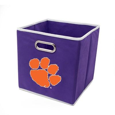 """NCAA Clemson Tigers 11"""" Storage Bin"""