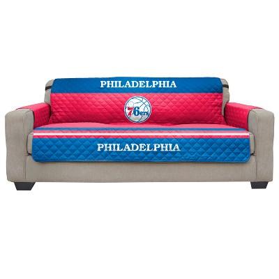 Remarkable Nba Philadelphia 76Ers Pegasus Sports Sofa Protector Creativecarmelina Interior Chair Design Creativecarmelinacom