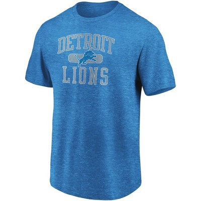 NFL Detroit Lions Men's Heather Short Sleeve T-Shirt
