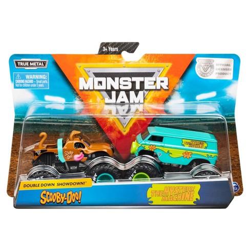 Monster Jam 1:64 - Scooby Doo vs Mystery Machine - 2pk - image 1 of 4