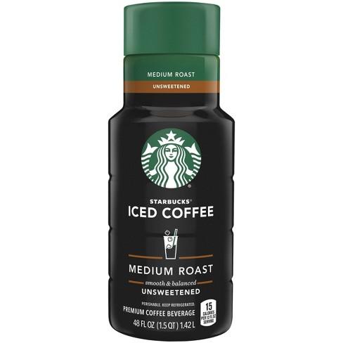Starbucks Unsweetened Medium Roast Iced Coffee - 48 fl oz - image 1 of 3