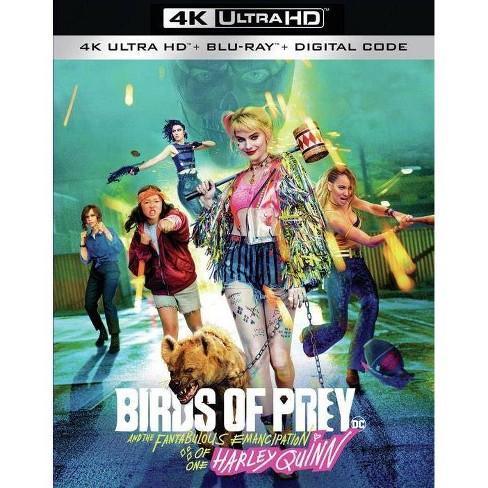 Birds Of Prey 4k Uhd Target