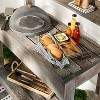 Mesh & Wood Food Dome - Hearth & Hand™ with Magnolia - image 2 of 3