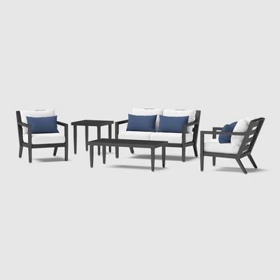 Thelix 5pc Seating Set - Bliss Ink - RST Brands
