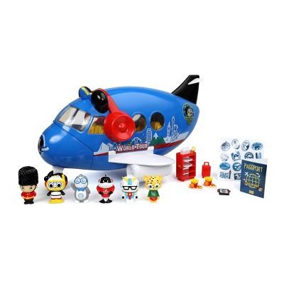 Ryan's World Panda World Tour Airplane Playset