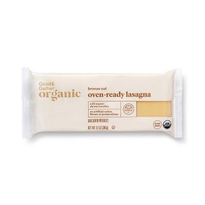 Organic Oven-Ready Lasagna - 12oz - Good & Gather™